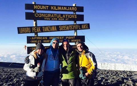 1. Gipfelbild: Maria Furtwängler mit ihren Brüdern